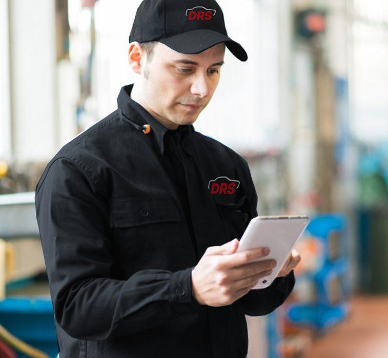 Die DRS Schaden-Management-Software ist die hoch-effektive Basis für die industrielle Abwicklung unserer Projekt- und Reparaturprozesse.